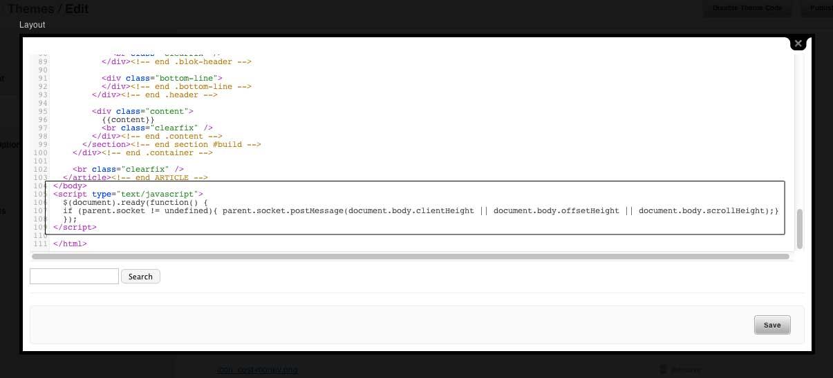 javascript resize heigh code