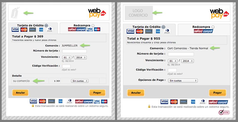 Diferencias entre Webpay Plus y Tienda Jumpseller con servicio Webpay